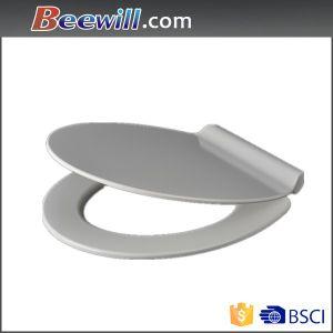 Ceramic Feeling Bathroom Anti-Bacterial Easy to Clean Urea Toilet Seat pictures & photos