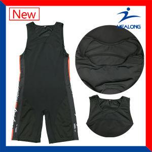 Sublimation Sport Wear Custom Wrestling Singlets Shirt pictures & photos