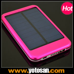 5000mAh Portable Cell Phone Battery Solar Mobile Charger pictures & photos