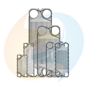 Heat Exchanger Spare Parts Equal Tranter (AISI316L, 304, Ti, Ni, Smo) Plate with (NBR, EPDM, Viton) Gasket