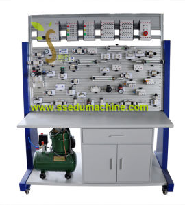 PLC Electro Pneumatic Training Workbench PLC Trainer Teaching Equipment