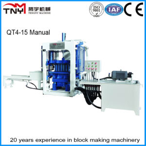 Qt4-15 Concrete Block Making Machine Cement Brick Making Machine for Sale pictures & photos