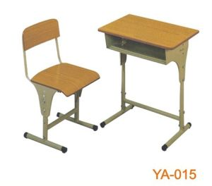 Popular Classroom Furniture Desk and Chair with Adjustable Height (YA-015) pictures & photos