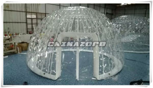 Double Skin Top Craft Clear Inflatable Bubble Tent Good Price