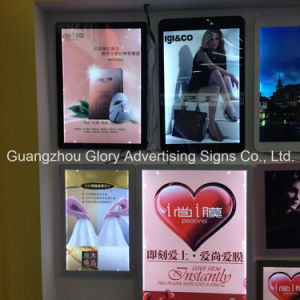 Custom LED Magnetic Suction 3D Advertising Light Box pictures & photos