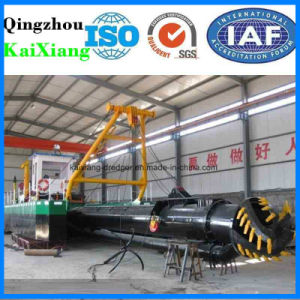 Hydraulic Type Cutter Head Suction Dredger for River Mud pictures & photos