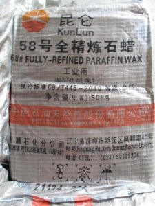 58# Fully Refined Paraffin Wax Partical Candle Wax