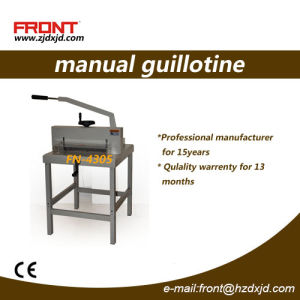 Manual Paper Cutter with 430mm (4305) pictures & photos