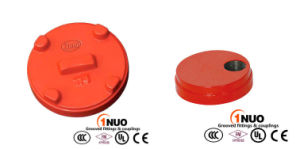 FM UL Approved Ductile Iron Grooved End Cap with Concentric Hole pictures & photos