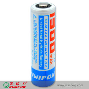 1.2V Rechargeable Ni-MH Battery with Low Self Discharge (VIP-AA1300)