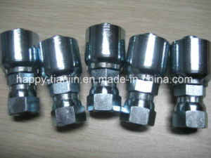 One Piece Hydraulic Hose Pipe Fittings pictures & photos
