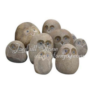 Natural Stone Owls (GQ-205-1)