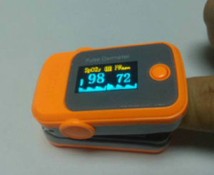 Finger Pulse Oximeter & Heart Rate Monitor pictures & photos