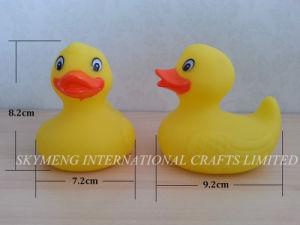 ASTM Vinyl Plastic Duck Bath Baby Toy