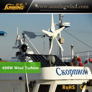 Support CE 400W Rooftop Wind Turbine Monitoring Use pictures & photos