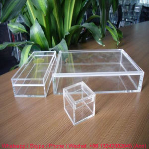 Professional Manufacturer of Clear Acrylic Storage Box pictures & photos