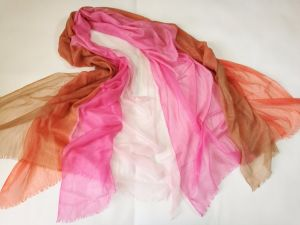 Wool Cashmere Abcd Layers Flying Shawl pictures & photos
