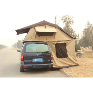 Equipment Campers Foldable Inflatable Tent Car Camping Roof Top Tent with Side Awning pictures & photos
