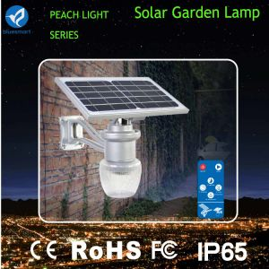 6W IP65 Lithium Battery Integrated Solar Garden Light pictures & photos