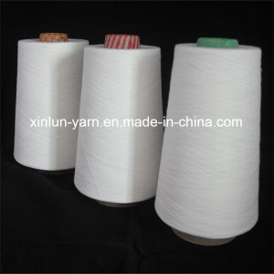 Polyester Yarn for Fabric Knitting Yarn Ring Spun Yarn 30s pictures & photos