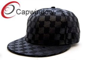 Promotional Black Total Printed Fashion Leisure Basebal L/ Snapback Hat pictures & photos