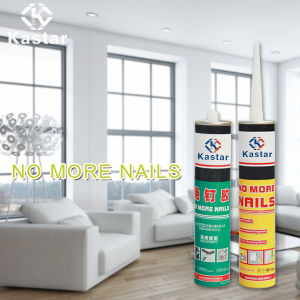White Color Wide Range Use Nail Adhesive for Handles pictures & photos