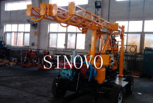 hot sale 300m rock drilling machine made in China exploration core drilling rig pictures & photos