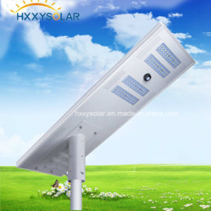 80W Outdoor Light Integrated All in One Solar LED Street Light with Motion Sensor pictures & photos