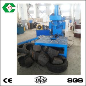 Scrap Tire Recycling Plant Whole Radial Tire Cutter pictures & photos
