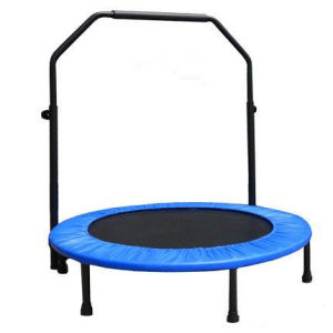 Sld38′′-Fyx-T Handrail Trampoline, Gym Trampoline pictures & photos