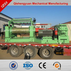 China Top Ranking Quality Rubber Two Roll Mixing Mill Machine pictures & photos