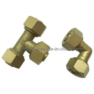 Brass 90 Degree Connect Coupling (ITFITF22) pictures & photos
