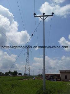 Hot DIP Galvanization Electric Power Steel Tubular Pole pictures & photos