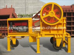 Input Size 210mm Diesel Engine Driven Jaw Stone Crusher pictures & photos