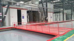 Autoamtic Industrial Powder Coating Product Line pictures & photos