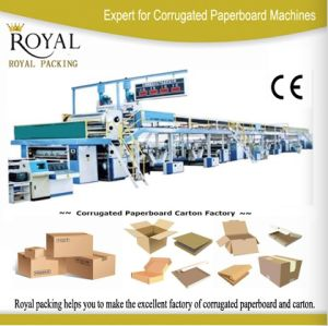 3-Layer Corrugated Paperboard Production Line pictures & photos