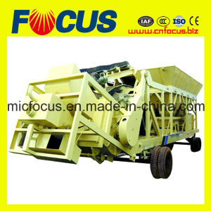 25m3/H Small Mobile Concrete Mixing Plant with Factory Price pictures & photos