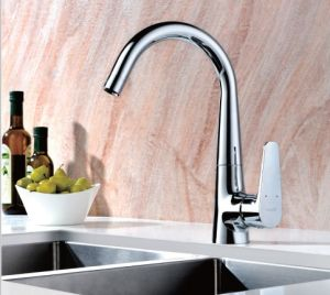 Single Lever Washbasin Kitchen Faucets (DH20) pictures & photos