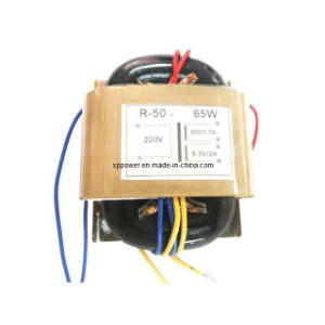 R-Type Single-Phase Switching Power Transformer, Low Profile and Lightweight (XP-PT-R50-1) pictures & photos