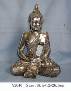 Polyresin Buddha Decoration (LE87-92040)