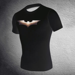 Men′s Tights Bat Man Sport T-Shirt Dress