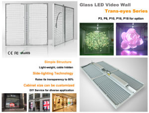 Transparent Glass LED Display pictures & photos