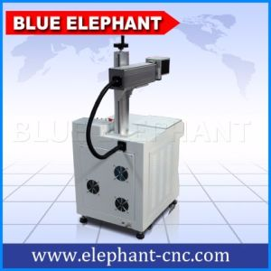 Mini Fiber Laser Marking Machine, YAG Laser Marking Machine, Laser Marking Machine for Jewellery pictures & photos