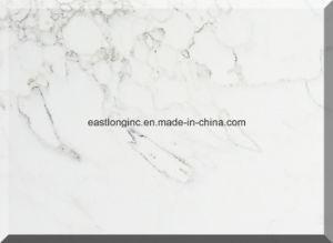 Best Sale Carrara White Marble Color Artificial Quartz Stone pictures & photos