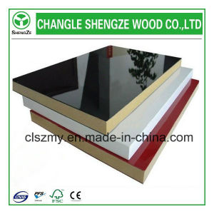 Shine Colorful Furniture Grade 18mm UV MDF pictures & photos