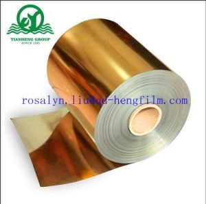 450mic Metallized PVC Rigid Film with Gold and Silver pictures & photos