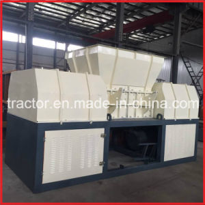 Double Shafts Paperboard/Paper Box/Cardboard/Carton/Waste Recycling Machine pictures & photos