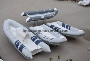 Liya 4.3m Open Floor Rib Boat Inflatable Rubber Boat
