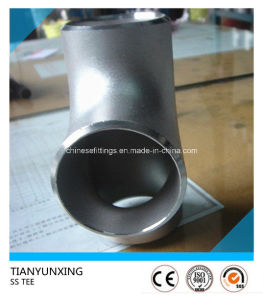 Butt Weld Equal Tp321 Stainless Steel Seamless Tee pictures & photos