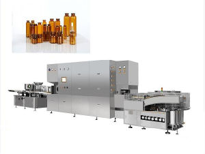 Oral Liquid Oral Solution Washing Filling Drying Sealing Production Line pictures & photos